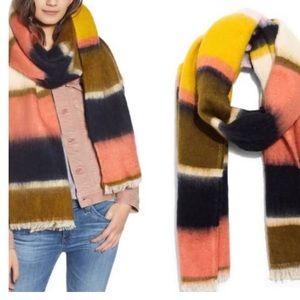 Madewell Dahlia Striped Cozy Winter Scarf/Shawl